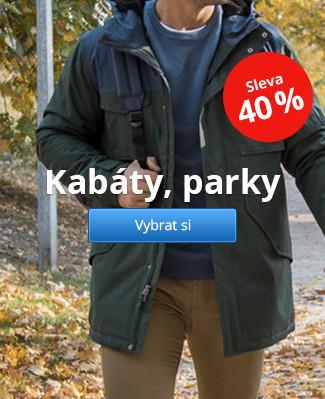 Kabáty, parky