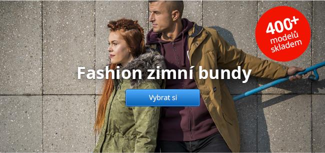 Fashion zimní bundy – 400+ modelů skladem