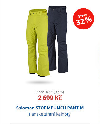 Salomon STORMPUNCH PANT M
