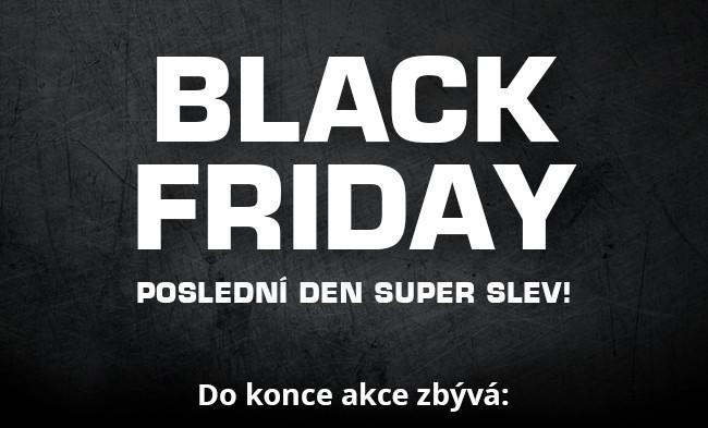 Black Friday - už jen DNES!