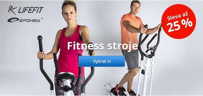 Fitness stroje Lifefit a Spokey – sleva až 25 %