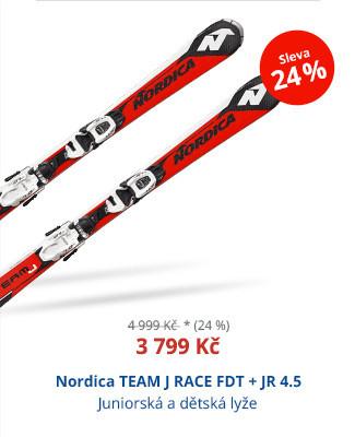 Nordica TEAM J RACE FDT + JR 4.5