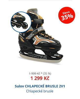 Sulov CHLAPECKÉ BRUSLE 2V1