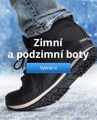 Zimní a podzimní boty