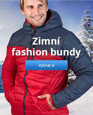 Zimní fashion bundy
