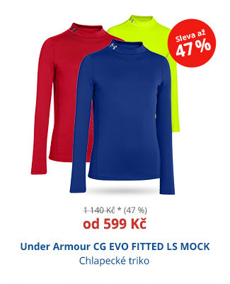 Under Armour CG EVO FITTED LS MOCK