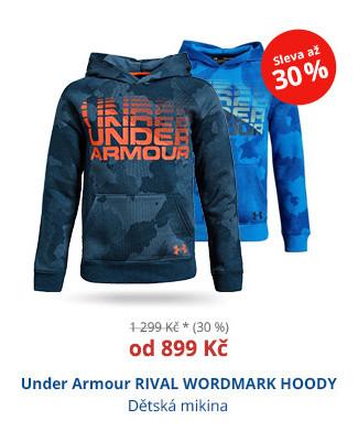 Under Armour RIVAL WORDMARK HODDY