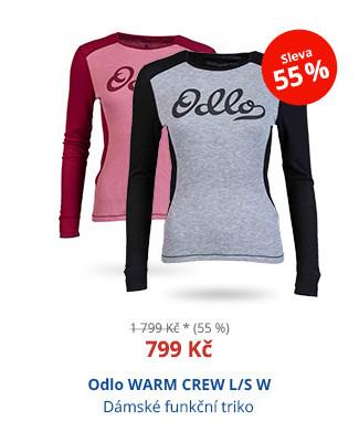 Odlo WARM CREW L/S W