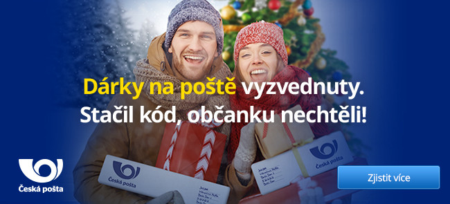 Banner česká pošta