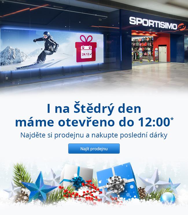 Sportisimo prodejny Česká republika