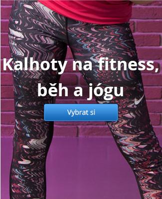 Kalhoty na fitness, běh a jógu