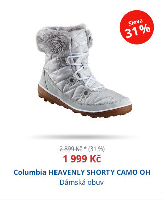 Columbia HEAVENLY SHORTY CAMO OH
