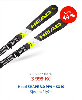 Head SHAPE 3.0 PP9 + SX10