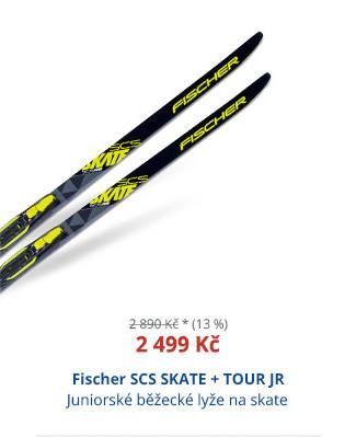 Fischer SCS SKATE + TOUR JR