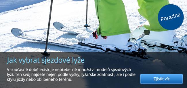 Poradna - Jak vybrat sjezdové lyže