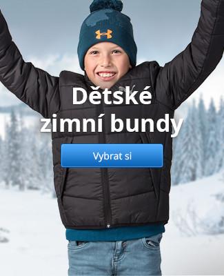 Dětské zimní bundy