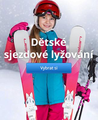 Dětské sjezdové lyžování