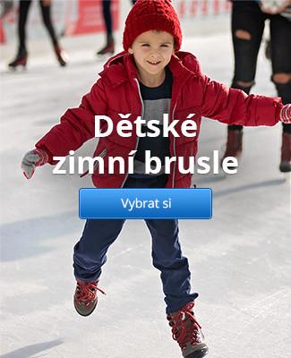 Dětské zimní brusle