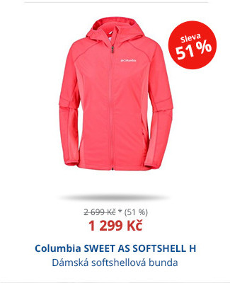 Columbia SWEET AS SOFTSHELL H