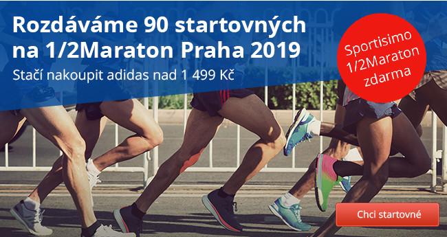 Registrace 1/2Maraton Praha 2019