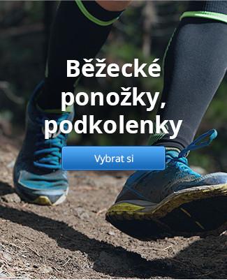 Běžecké ponožky, podkolenky