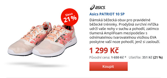 Asics PATRIOT 10 SP