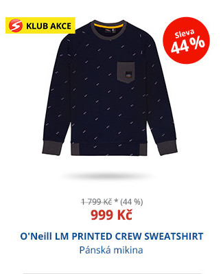O'Neill LM PRINTED CREW SWEATSHIRT