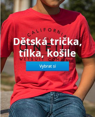 Dětská trička, tílka, košile