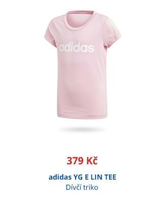 adidas YG E LIN TEE