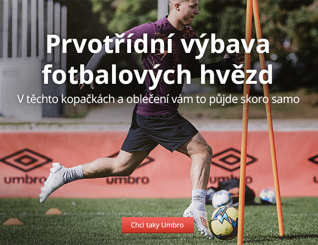 Umbro: Prvotřídní výbava fotbalových hvězd