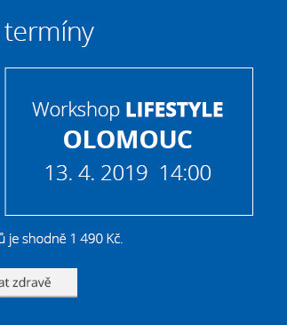 Olomouc – Workshop Lifestyle