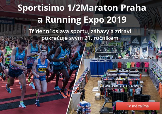 Sportisimo 1/2Maraton Praha a Running Expo 2019