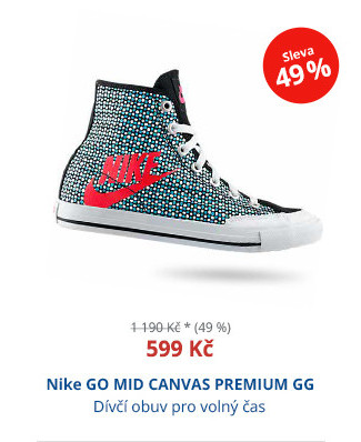 Nike GO MID CANVAS PREMIUM GG