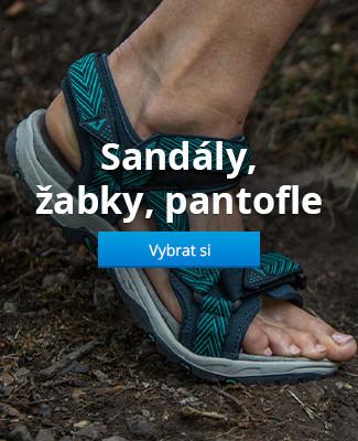 Sandály, žabky, pantofle