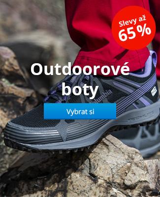Outdoorové boty slevy až 65 %