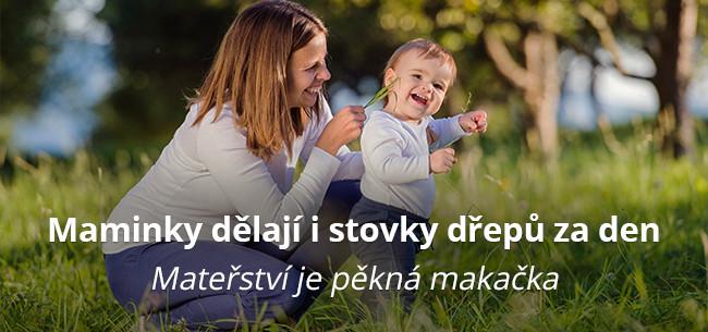 Maminky dělají i stovky dřepů za den