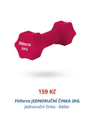 Fitforce JEDNORUČNÍ ČINKA 2KG