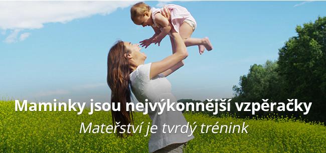 Maminky jsou nejvýkonnější vzpěračky