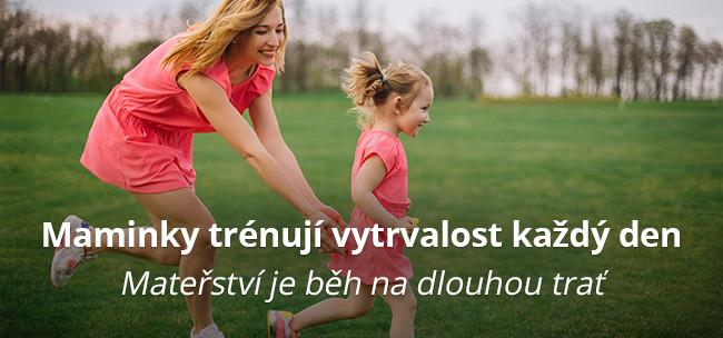 Maminky trénují vytrvalost každý den
