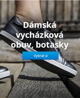Dámská vycházková obuv, botasky
