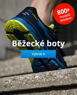 Běžecké boty 800+ modelů skladem