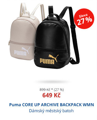 Puma CORE UP ARCHIVE BACKPACK WMN