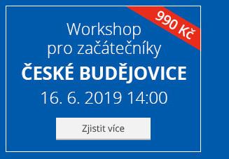 České Budějovice – Workshop pro začátečníky