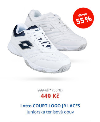 Lotto COURT LOGO JR LACES