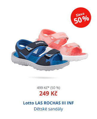 Lotto LAS ROCHAS III INF