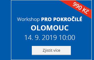 Olomouc – Workshop pro pokročilé