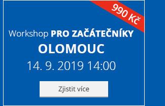 Olomouc – Workshop pro začátečníky
