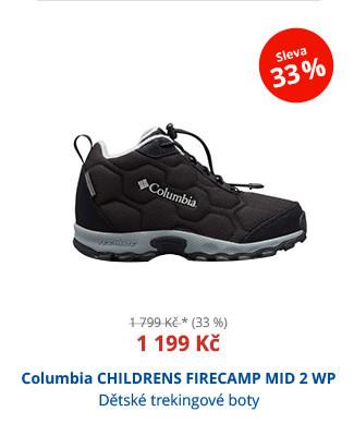 Columbia CHILDRENS FIRECAMP MID 2 WP