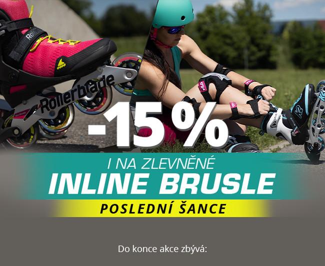 Inline brusle se slevou 15 %