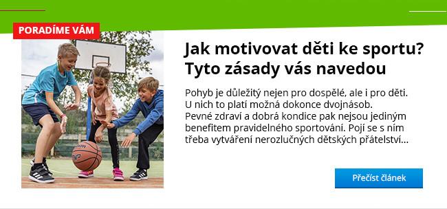 Jak motivovat děti ke sportu BLOG